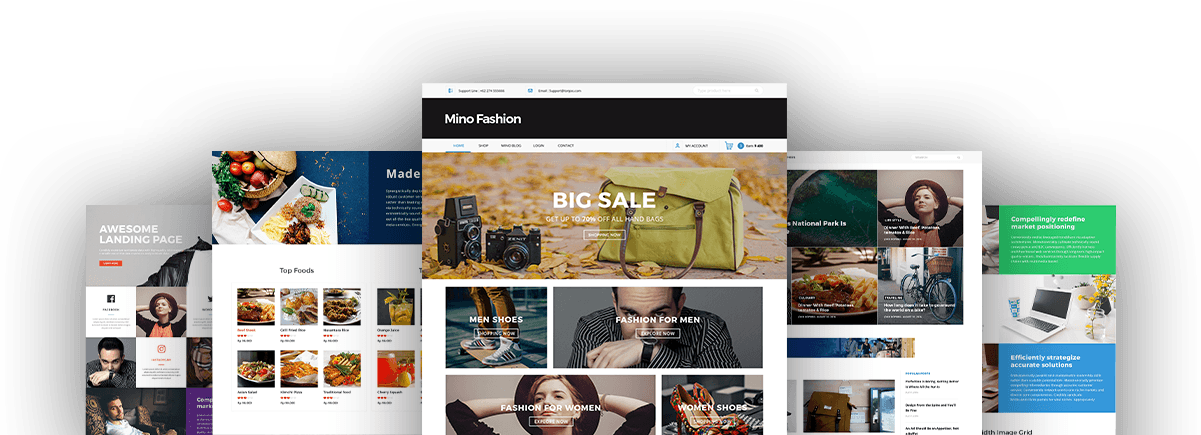 Mino Multipurpose WordPress Theme