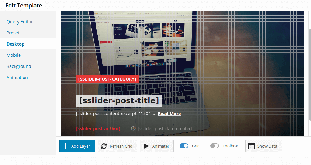 post slider plugin