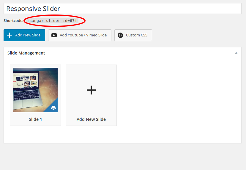 How to display different slider on Mobile devices