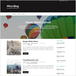 Demo Mino Blog