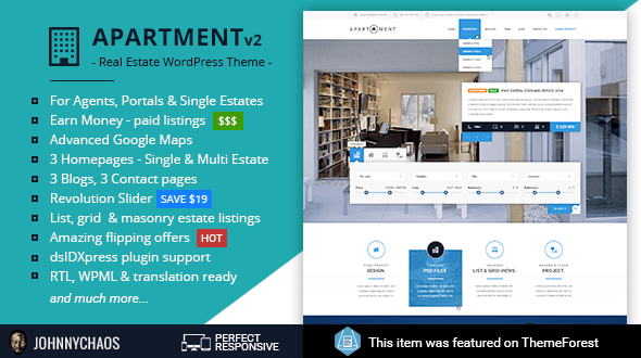 Apartment WP Theme