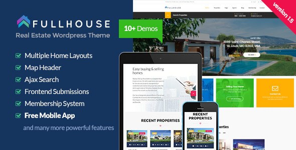 Full House WP Theme