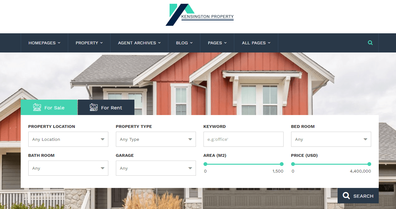 Kensington Property Management WP Theme