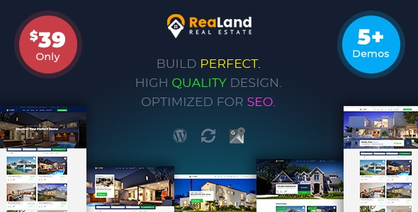 RealLand WP Theme