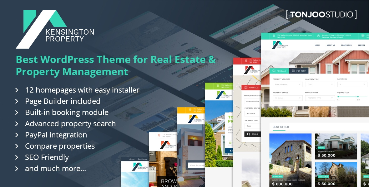 What is Exactly Kensington WP Theme Used For