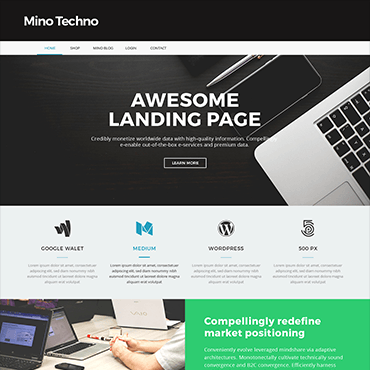 landing-page-one